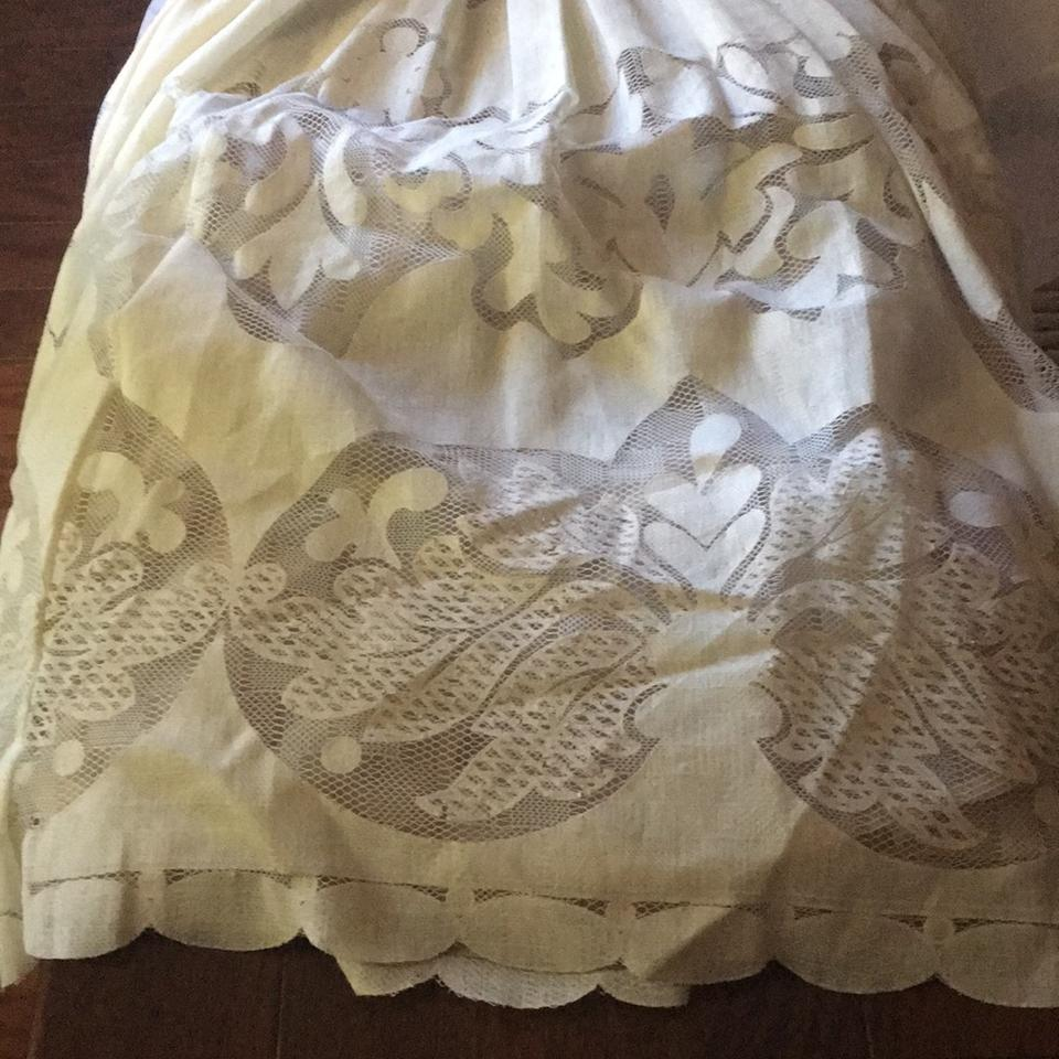 Anthropologie Cream Lace Casual Wedding Dress Size 0 (XS) - Tradesy