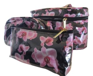 Seda France Kennedy-International-Inc-Orchid-Noir-Seda-France-4-Piece-Cosmetic-Bag