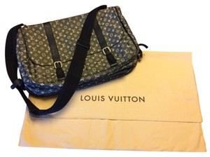 Louis Vuitton Midnight And Grey Diaper Bag