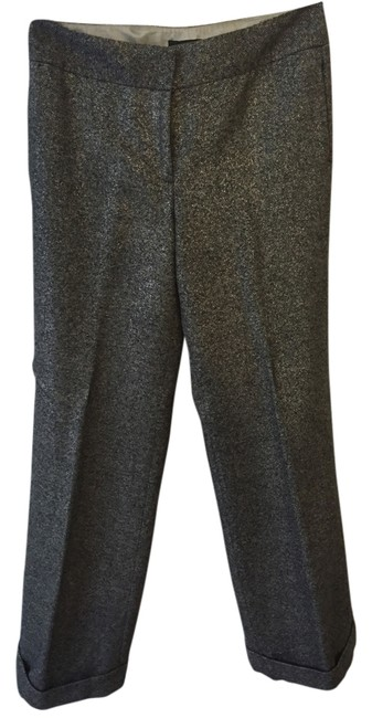 Item - Gray Metallic Tweed Pants Size 10 (M, 31)