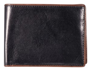 Bosca * BOSCA WASHED 8 POCKET DELUXE EXECUTIVE WALLET