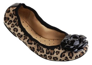 Lindsay Phillips Liz Animal Print Ballet Interchangeable Leopard Print Flats