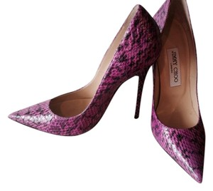 Jimmy Choo Limited Edition Python Orchid Pumps