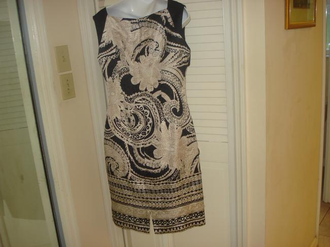 Kay Unger 71% Silk 29% Cotton Ruched Dress