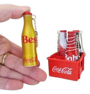 Coca-Cola Coca-Cola Brazil Collection 2015 Set of 4 Miniature Bottles and Crate