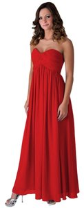 Red Maxi Dress by Chiffon
