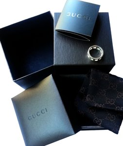 Gucci Authentic Gucci Bamboo Collection Silver Ring 4.5/5, full package