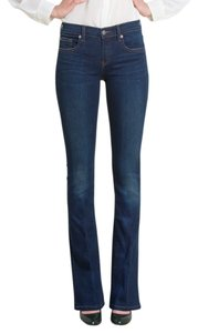 Henry & Belle Slimming Sleek Classic Boot Cut Jeans-Dark Rinse