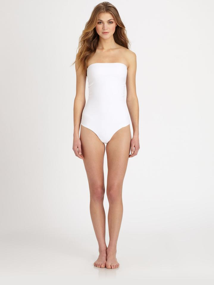 8533a726de869 MIKOH Bone Santorini S One-piece Bathing Suit Size 4 (S) - Tradesy