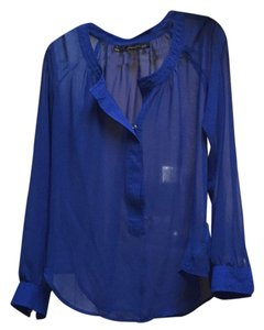 Patterson J. Kincaid Top Royal blue