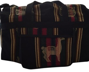 Other Black/red/green/tan Travel Bag