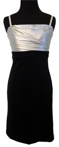 BCBGMAXAZRIA Fitted Satin Dress