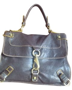 Luana Satchel in Rich espresso brown