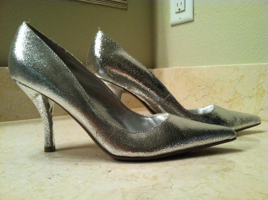 Steve Madden Metallic silver Pumps