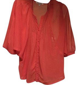 Black Rainn Top Burnt orange / redish- orange