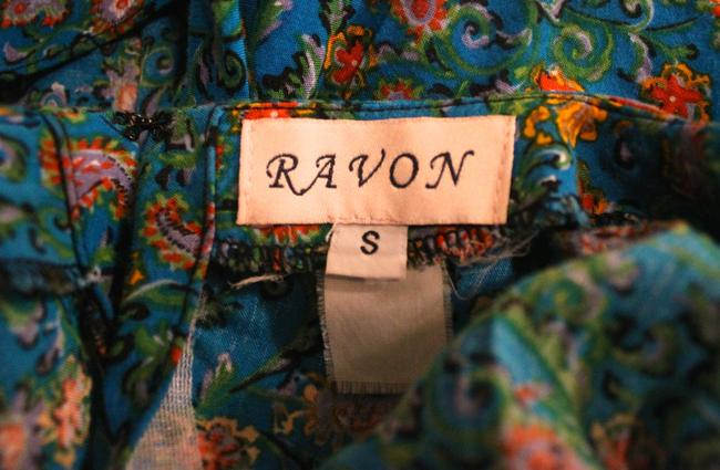 Ravon short dress Blue on Tradesy