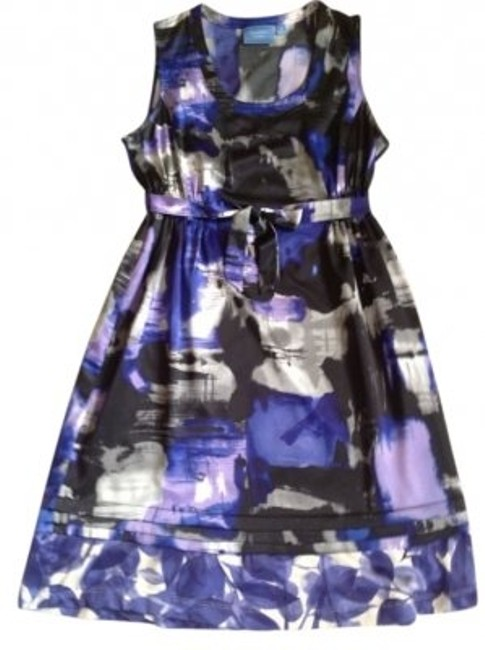 Preload https://item1.tradesy.com/images/vera-wang-purple-black-multi-print-above-knee-night-out-dress-size-10-m-11965-0-0.jpg?width=400&height=650