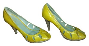 Qupid mustard Pumps