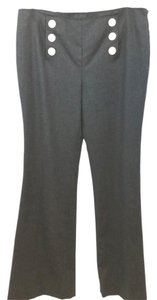 Tory Burch Wool Straight Pants BLACK