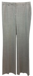 Theory Stretchy Wool Straight Pants GREY