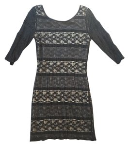 Other Bodycon Cocktail Lbd Little Lace Trim Dress