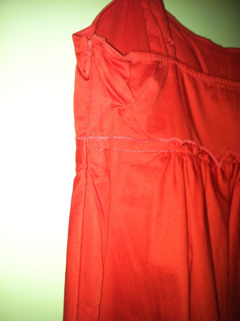 The Limited short dress Fire Engine Red Babydoll on Tradesy Image 3