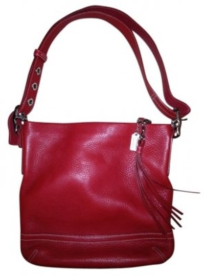 Preload https://item2.tradesy.com/images/coach-adjustable-strap-red-leather-shoulder-bag-11966-0-0.jpg?width=440&height=440