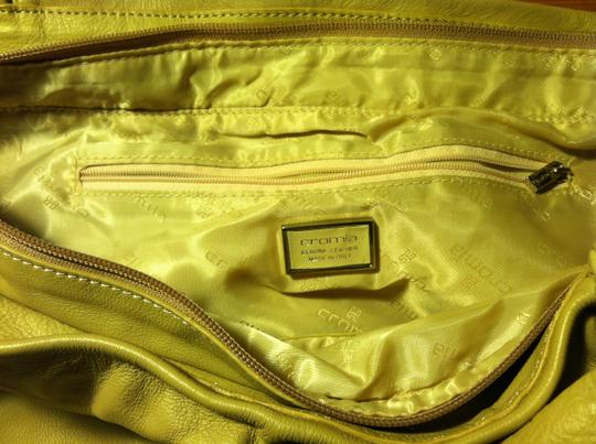 Cromia Made In Italy Genuine Leather Handbag Shoulder Bag