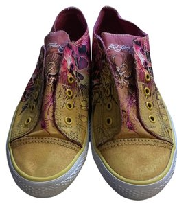 Ed Hardy Pink and yellow Athletic