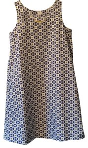 Orla Kiely short dress Grey, gold, white on Tradesy