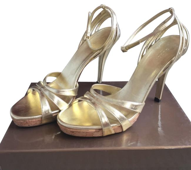 Item - Gold Formal Shoes Size US 9 Narrow (Aa, N)