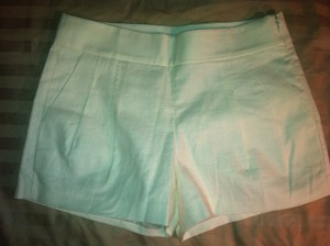 J.Crew White Mini/Short Shorts Optic white