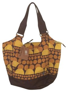 Brooklyn Industries Tote in Brown And Orange