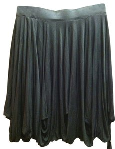 Saks Fifth Avenue Swing Skirt Black