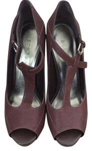 BCBGeneration Brown Mules