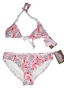 Juicy Couture JUICY COUTURE Coral Rope Triangle Bikini