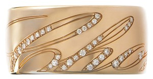 Chopard Brand New Chopard Chopardissimo Ring in 18k Rose Gold with Diamonds, Reference No. 826580-5210, Size 7