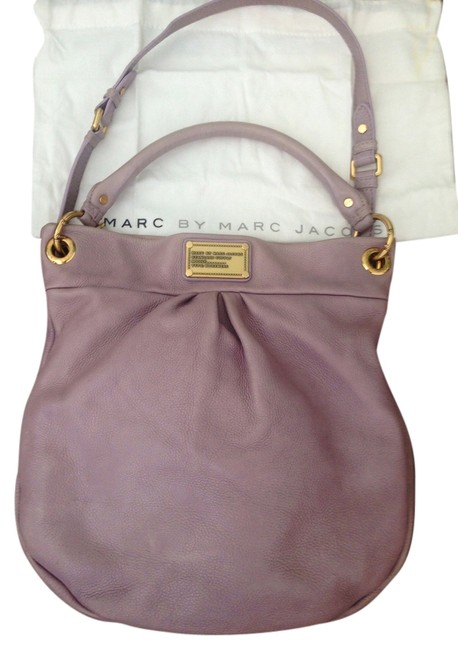 Item - Classic Q Hillier Lavender Leather Hobo Bag