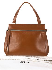 Céline Edge Leather Shoulder Bag
