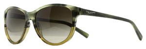 DKNY DKNY Green Horn Cateye Sunglasses