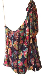 Lilly Pulitzer Top Navy Butterfly Multi