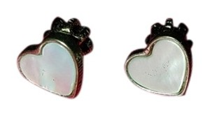 Juicy Couture Juicy couture heart earrings