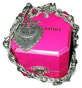 Juicy Couture Juicy couture stone cold juicy girl silver necklace