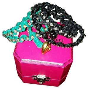 Juicy Couture Juicy couture rhinestone wrap bracelet/ choker