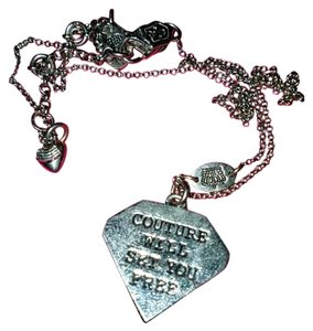 Juicy Couture Juicy Couture will set you free diamond necklace