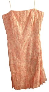Ann Taylor short dress Pink and white on Tradesy