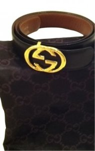 Gucci Double GG Gold Buckle