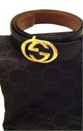 Preload https://item1.tradesy.com/images/gucci-black-leather-double-gg-gold-buckle-belt-11970-0-0.jpg?width=440&height=440