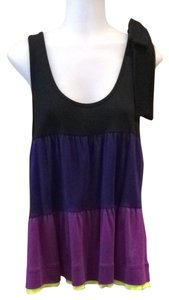 Sonia Rykiel Top Black Purple