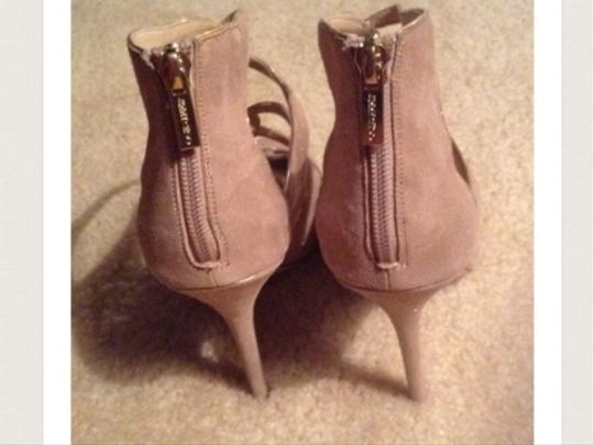 Jimmy Choo Beige w/subtle gold trim Boots